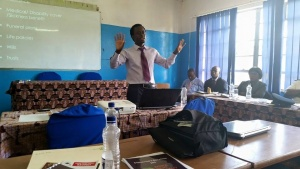 Engaging lecturer